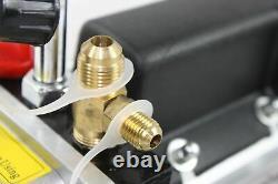 1/3HP 3.5CFM 110v Rotary Vane Deep Vacuum Pump HVAC Tool AC R410a R134 R22