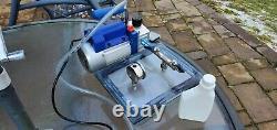 1/4 HP 3 CFM Rotary Air Vacuum Pump RS-1 + Vacuum Chamber