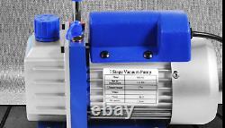 1 Stage 1.8 Cfm Vacuum Pump 40l/min Vacuum Desiccator Air Conditioner