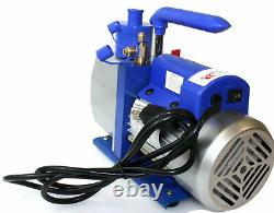 1 Stage 110V 7CFM 1/2 HP Rotary Vane Deep Vacuum Pump