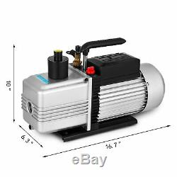 12CFM Vacuum Pump Double Stage 0.2Pa or 15 microns medical apliances Power 1HP