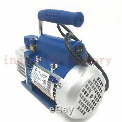 2.12CFM Rotary Vane Air Vacuum Pump 220V 1-Stage 150W HVAC Vacuum Drying Packing