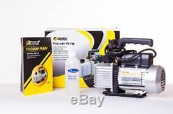 2.5CFM 1/4HP Single Stage Vacuum Pump UK Plug CE Marked