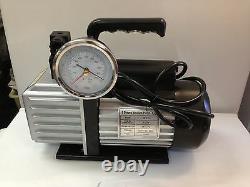 2 Stage 4.5cfm Refrigeration Vacuum Pump 3gauge Selonoid Valve 2ds245s