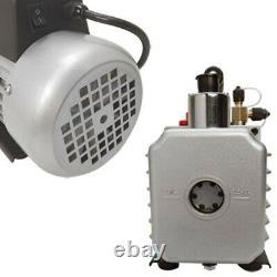 2 Stage Electric Refrigerant 2.5CFM VACUUM PUMP HVAC 1/3HP 10 Pa