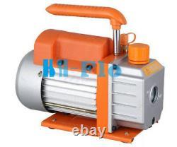 220V Single Stage 6CFM Refrigeration Vacuum Pump R410A R134A R407C HVAC Tool