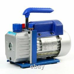 3 CFM 1/4HP 110V Single Stage Vacuum Pump Refrigerant Air Conditioning-CA STOCK