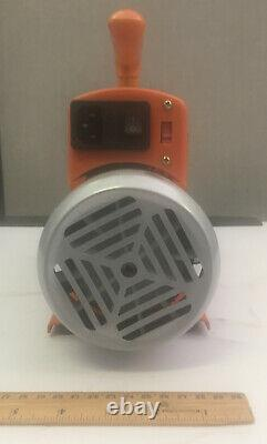 3 Gallon Degassing Chamber with 7 CFM 1/2 HP Single Stage RS-3 Vacuum Pump