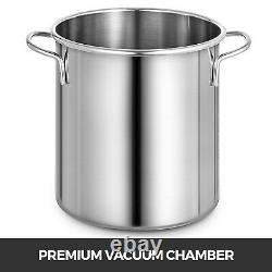 3 Gallon Vacuum Chamber + 4CFM Single Stage Pump HVAC to Degassing Silicone Kit