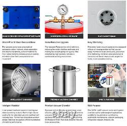 3 Gallon Vacuum Chamber Degassing Silicone & 3CFM Single Stage Pump Air AC Kit