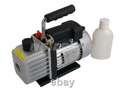 3CFM 1440rpm Compact AC Air Conditioning Refrigeration Testing Vacuum Pump 3793