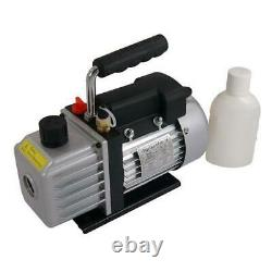 3cfm Vacuum Pump Two Stage Performance A/C or Refrigeration 3793