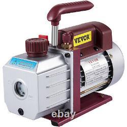 4.5CFM 1/3HP Single Stage Rotary Vacuum Pump 5pa Refrigerant 1/2 ACME inlet