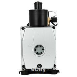 5 CFM Rotary Vane DEEP Vacuum Pump HVAC Tool For AC R410A R134 Refrigeration A/C