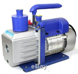 5 Gallon Stainless Steel Vacuum Degassing Chamber Silicone Kit with5 CFM Pump Hose