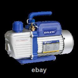 6 CFM 2 Stages Vacuum Pump HVAC Fiberglass infusion Forming Printing Freezer