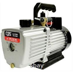 6 Cfm 2 Stage Vacuum Pump Vp6d