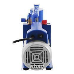 6CFM 2 Stage Refrigerant Vacuum Pump Vacuum Forming Refrigeration Vacuum Packing