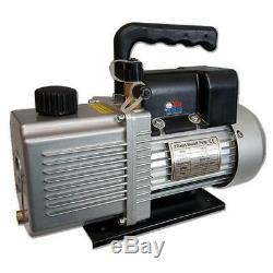 710Vacs Vacuum Pump 4 CFM Rotary Vane 2 Stage, 1/2 HP, HVAC A/C Vac Chamber
