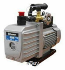 90066-2V-110 6 CFM Vacuum Pump Two Stage 1/3 HP 15 Microns 3440 RPM Mastercool