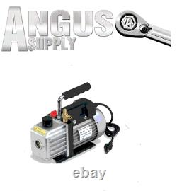 AC A/C Automotive Auto Truck HVAC AIR CONDITIONING 3 CFM Vacuum Pump