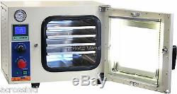 Ai 110V 5 Sided UL/CSA Certified 0.9 Cu Ft Vacuum Oven with 110/220V 7 cfm Pump