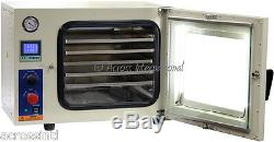 Ai 5-Sided UL/CSA Certified 1.9 CF Vacuum Oven with 110/220V 9 cfm 2-Stage Pump