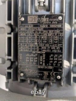 Airtec L12-G1 Oil Lubricated Rotary Vane Pump 7 CFM 2 Torr Vacuum Pump