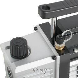 CA Stock 5Gallon 3 CFM Stainless Steel Vacuum Degassing Chamber Kit 3CFM Pump