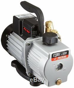 Cps Vp6d Pro-set Vacuum Pump 6cfm, 2 Stage, Dual Voltage 1/2hp Motor