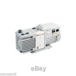 Edwards RV8 6.9 cfm 2-Stage Vacuum Pump with Fittings Vacuum Chamber Purging Oven