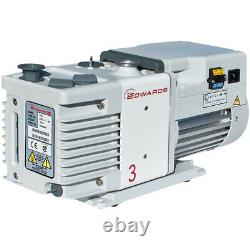 Edwards Rotary Vane Vacuum Pumps for Freeze Dryers RV3 Air Displacement 2.7cfm