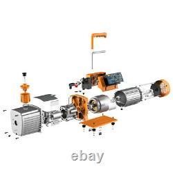 Elitech SVP-12 Vacuum Pump 12CFM 2 Stage Intelligent HVAC Refrigerant Recharging