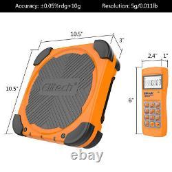 Elitech SVP-7 Vacuum Pump 7 CFM 2 Stage Intelligent HVAC+LMC-310A Charging Scale