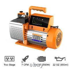 Elitech SVP-9 Vacuum Pump 9CFM 2 Stage Intelligent HVAC Refrigerant Recharging