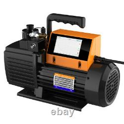Elitech V700 Rotary Vane Vacuum Pump 7CFM 2 Stage Intelligent HVAC Refrigerant