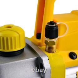 FAVORCOOL FC-30T 3CFM 1/4HP Vacuum Pump for HVAC Car A/C Charge R410A R134A R22