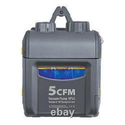 Fieldpiece VP55 1/3 hp 5 CFM, Vacuum Pump withRunQuick Oil Change System