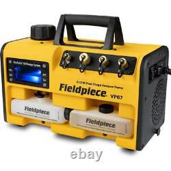 Fieldpiece VP67 RunQuick 6CFM Two-Stage Vacuum Pump
