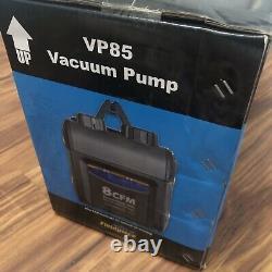 Fieldpiece VP85 HVAC Vacuum Pump 8CFM Two Stage Pump RunQuick Oil Change System