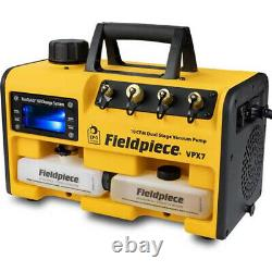 Fieldpiece VPX7 Dual Stage Run Quick 10 CFM Two-Stage Vacuum Pump