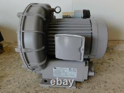 Fuji Electric Blower, Ring Compressor, VFC508P-2T, 200-300V, 2.5 HP, 154 CFM