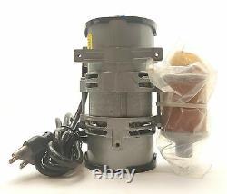 GAST LOA-P175-AA Oilless Rocking Piston Vacuum Pump 25inHg. 38CFM 1/4NPT 115VAC