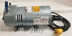 Gast 0523-101Q-G588DX Oil-Free Rotary Vacuum Pump 4.5cfm