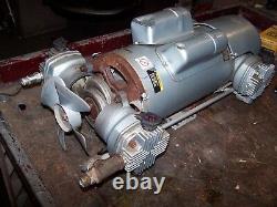 Gast Oil-less Piston Air Compressor 1.5 HP 9.1 Cfm 100 Psi 7hdd-10-m700x