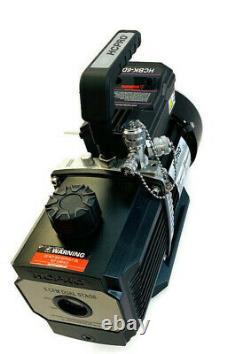 Hcpro Hcbk6d Vacuum Pump 6cfm, 2 Stage, Dual Voltage 1/2hp Motor