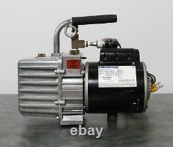J/B DV-200N. 50 HP Vacuum Pump Pulls Down to 25 Microns 7 CFM Marathon Motor