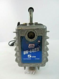 JB DV-142N Vacuum Pump 5 CFM 1/2 HP C55JXHJW-4084