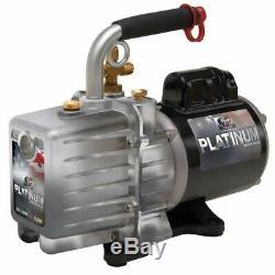 JB INDUSTRIES DV-200N Platinum Refrig Evacuation Pump, 7.0 cfm, 6 ft