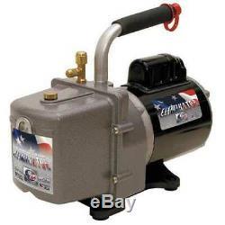 JB INDUSTRIES DV-4E Eliminator Refrig Evacuation Pump, 4.0 cfm, 6 ft